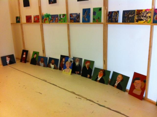 Kunstprojekt der Klasse 6b