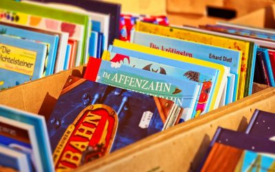 Kleiner Bücherflohmarkt